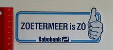Aufkleber/Sticker: Rabobank Zoetermeer is Zo (130516199)