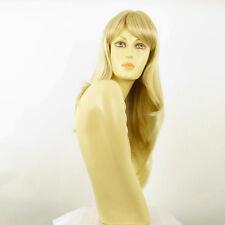 Perruque femme mi-longue blond doré méché blond très clair WENDY 24BT613