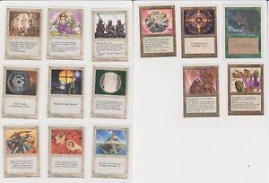 MTG Fourth edition 1995 MTG 4th ed old magic the gathering cards