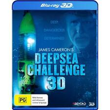 James Cameron's Deep Sea Challenge (Blu-ray, 2014) BRAND NEW  REGION B