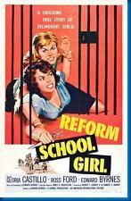 Reform School Girl Movie Poster
