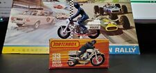Vintage Matchbox Lesney Superfast No33 Honda 750 Police Motorcycle MINT BOXED!