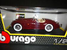 Bburago Jaguar XK120 Roadster 1951 Maroon 1/24