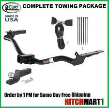 FITS 2011-2016 FORD EXPLORER CLASS 3 TRAILER HITCH PACKAGE w/FUSION BALL MOUNT