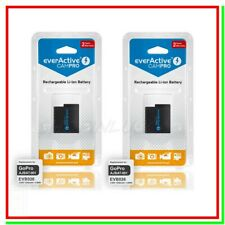 2 Batteria GoPro Hero 5 6 7 8 Pila Ricaricabile 1250mah Action Cam AJBAT-001