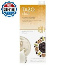 Tazo Chai Latte Spiced Black Tea Concentrate 6 Pack 32 Fl Oz