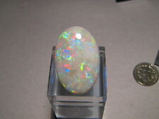 17.49 CTW.  Australian White opal  , Large stone with good color