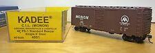 Kadee C.I.L. Monon 40' PS-1 Std. Boxcar, Single 6' Door, #4001 NEW