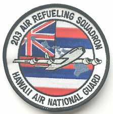 203 Air Refueling Squadron USA Air Force Hawaii Air Nat Guard Embroidered Patch