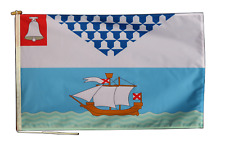 More details for belfast flag with rope and toggle - various sizes