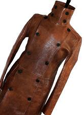 Raro Para Hombre BURBERRY London Leather pasarela Chaquetón Abrigo Chaqueta Abrigo 38R