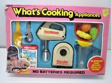 VINTAGE RARE 1985 ARCO WHAT'S COOKING APPLIANCES PLAY FOOD PLAY SET TOY IN BOX