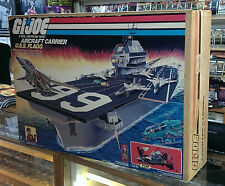 Gi Joe 1985 USS Flagg Aircraft Carrier & Keel Haul - FACTORY SEALED - VERY RARE!