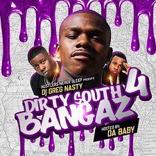"DJ Greg Nasty - HIP-HOP AND R&B ""Dirty South Bangaz 4"""