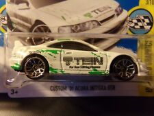 Lot Of 2 Hw New Hot Wheels 2017 Custom 01 Acura Integra Gsr 2001 T Tein Logo Moc