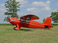 1/8 Scale Rearwin Speedster Plans, Templates, Instructions