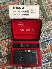 Leica M6 35mm Rangefinder Film Camera Body