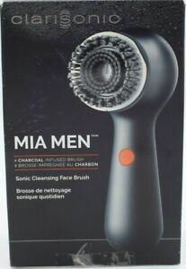 Clarisonic Mia Men + Charcoal Infused Brush Head Sonic Cleansing Face Brush