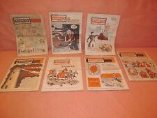 Lot de 7 revues anciennes Tournesol mensuel 1963 et 1964 journaux anciens