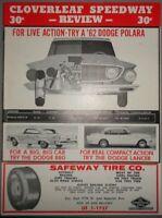 1962 Cloverleaf Speedway Review Program
