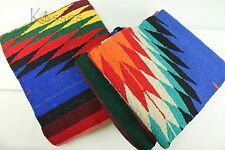 NEW 4x6 Large Serape Southwestern Mexican Blanket Horse Saddle Yoga Sarape Rug