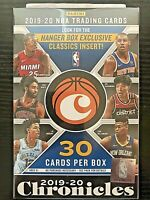 2019-20 Panini Chronicles Basketball Hanger Box ZION WILLIAMSON JA MORANT prizm
