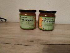 Imkerbund Banderole,Gewährverschlüsse Liebig DIB Honigglas Honig-Etikett