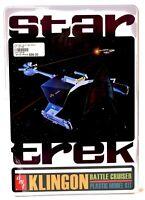 AMT ERTL Collector's Tin Star Trek TOS Klingon Battle Cruiser Model Kit NIB d587