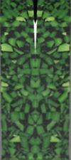 "Forest Green Acrylic 2 pc Mini Knife 3/16""x3/4""x3 34; #57"