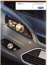 Ford Focus 2007-08 UK Market Sales Brochure Studio Style Zetec Titanium ST