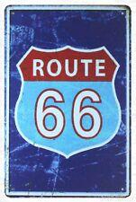 Uns Verkäufer-Metall Kunst Arbeit Route 66 Mancave Garage Tin Metal Sign