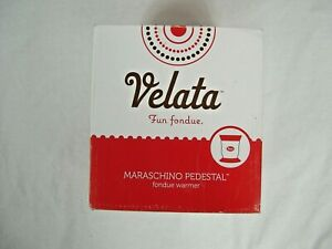 Velata fondue warmer 'Maraschino Pedestal'