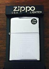 Zippo Lighter Elevator Shaft High Polished 2002 Design