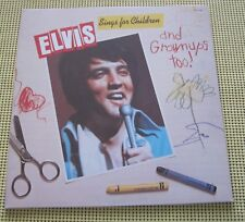 Elvis Sings for Children and Grownups Too!  CPL1-2901  RCA Stereo  Pre-owned