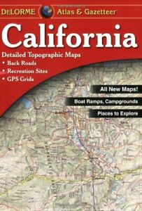 California State Atlas & Gazetteer, by DeLorme - discounted