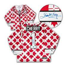 Don Cherry Hockey Jersey Canada Maple Leaf Red & White Autographed Custom Suit