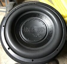 "Pair Old School Kove Audio ARMAGEDDON DVC 12"" Competition Subwoofer,RARE,USA"
