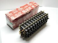 G Scale - LGB - Lot of (12) Pieces of 1000 300mm Brass Straight Track