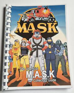 100% Unofficial M.A.S.K Collectors Guide