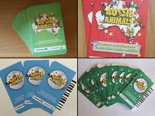 ** Woolworths AUSSIE & SUPER Animals Cards ** Any cards 5 for $1.00 **