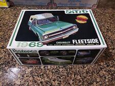 Rare AMT 1969 Chevrolet C/10 Fleetside Pickup Model Kit #Y925