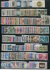 Vatican City Collection 117 Complete Sets 1939-1973 Scott 68/554 C35-C54 J19-24