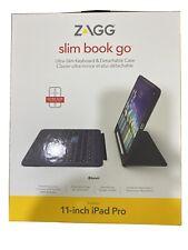 "ZAGG Slim Book Go Ultra-Slim Keyboard & Case - iPad Pro 11""  -  New Open Box"