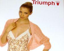 TRIUMPH donna bolero - TGL M - Inverno Moments 45 Rosa NUOVO + conf. orig.
