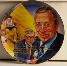 "JOHN WOODEN UCLA Bruins Gartlan USA 8 1/2"" Plate 1989 ""The Call Him Coach"""