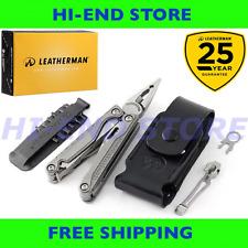 NEW- Leatherman CHARGE TTi Multi-Tool + Leather Sheath + Bit Kit + Pocket Clip