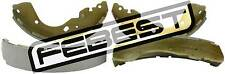 0202-D40TR Genuine Febest Shoe Kit, Rear Brake D4060-EB70A