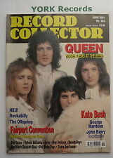 RECORD COLLECTOR MAGAZINE - Issue 262 June 2001 - Queen / Kate Bush / Offspring