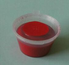 Pigmento Colore Rosso 25g per resine colata in poliuretano, Plastica & SCHIUME
