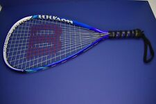 Wilson Ripper Titanium Crushing Power  Racquetball Racquet With Case